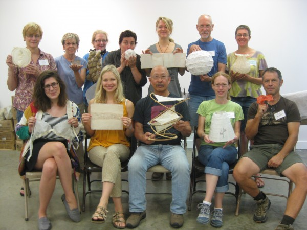 My class at Arrowmont, August 2014